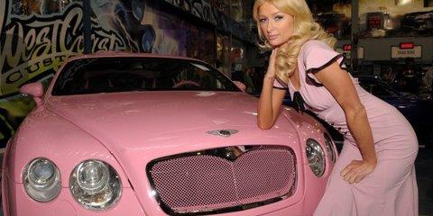 Paris Hilton gets a Lexus LFA for her 30th birthday