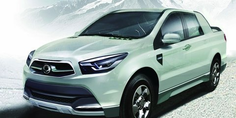 Ssangyong SUT 1 Concept to preview 2012 Actyon Sports