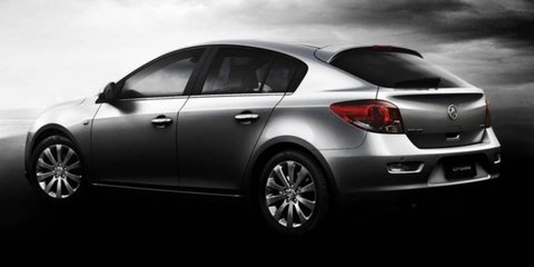 2011 Holden Cruze hatch revealed in first official images