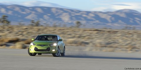 No Veloster equivalent for Kia at this stage