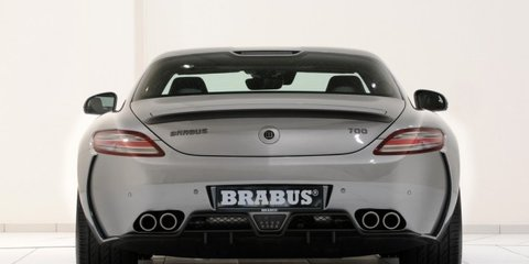 2011 Brabus 700 BiTurbo SLS at Geneva