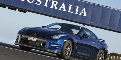 2011 Nissan GT-R day Phillip Island Video