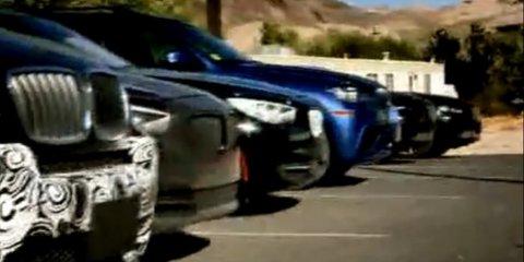 Video: 2012 BMW 1 Series, 3 Series testing in Death Valley