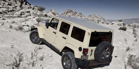 2011 Jeep Wrangler Mojave unveiled at New York show