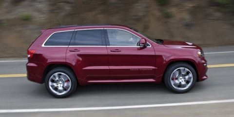 2012 Jeep Grand Cherokee SRT8 unveiled at New York show