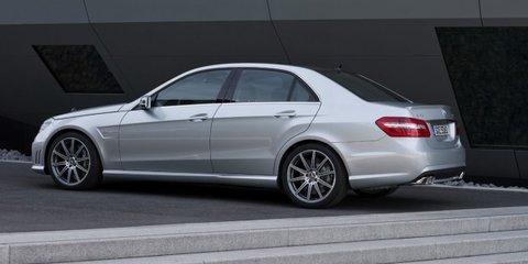 2012 Mercedes-Benz E 63 AMG on sale in Australia in November