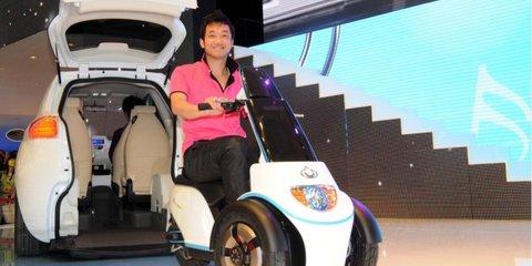 Geely McCAR unveiled at Auto Shanghai 2011
