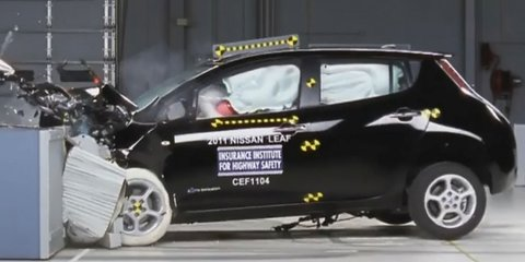 Nissan LEAF, Chevrolet Volt receive top IIHS safety ratings