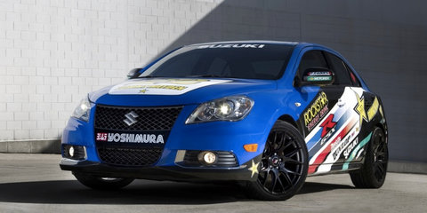 Suzuki Kizashi Apex and EcoCharge Concepts unveiled at New York show
