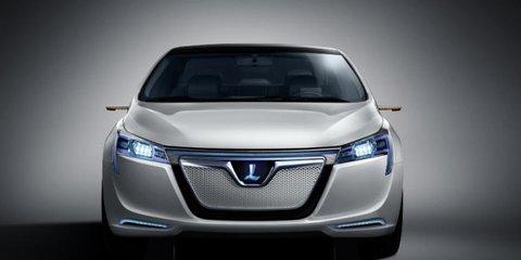 Luxgen neora electric concept at Auto Shanghai 2011