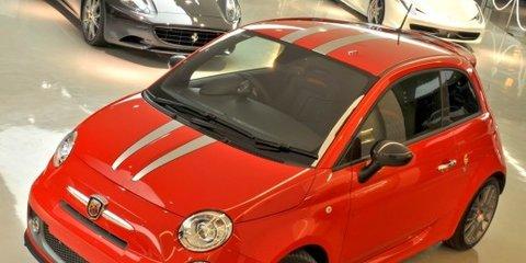 2011 Abarth 695 Tributo Ferrari on sale for $70,000