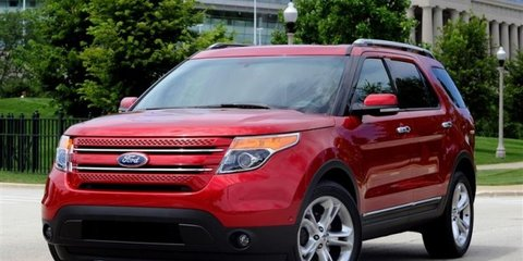 Ford Explorer rear inflatable seatbelt wins safety award