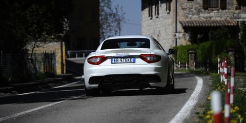2011 Maserati GranTurismo MC Stradale here in June