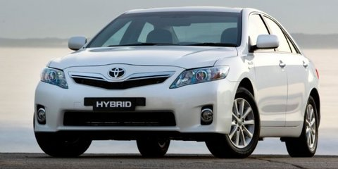 2011 Toyota Camry, Hybrid Camry earn five-star ANCAP safety rating