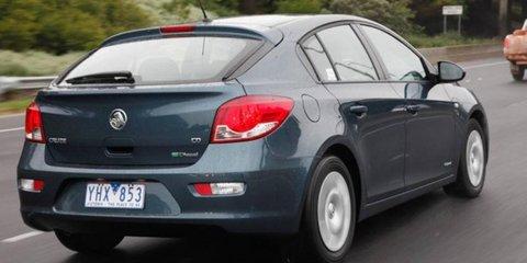 2012 Holden Cruze hatch testing, on sale Q4 this year