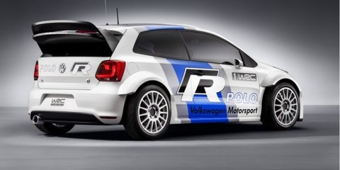 2013 Volkswagen Polo R WRC, not for production