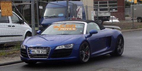 2012 Audi R8 GT Spyder spy shots