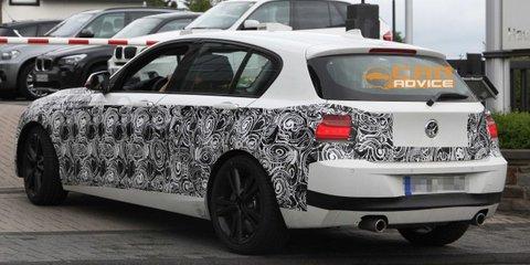 2012 BMW 1 Series M pack spy shots
