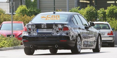 2012 BMW 3 Series spy shots revealing more detail