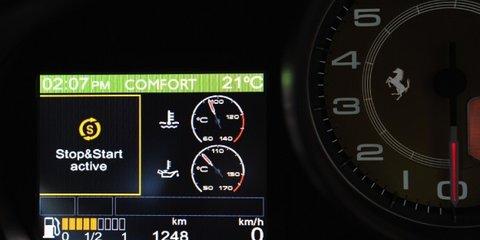 2011 Ferrari California HELE offers reduced CO2 emissions