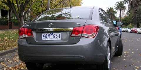 2010-2011 Holden JG Cruze recalled in Australia