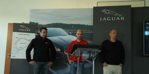 Jaguar testing at the Nurburgring Nordschleife – 'Green Hell'