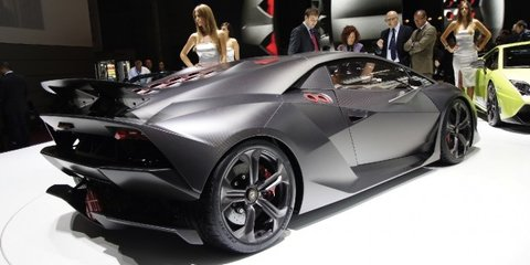 Lamborghini Sesto Elemento on sale in October