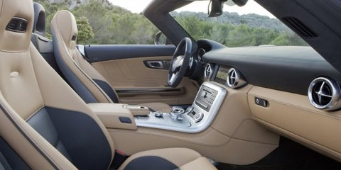 Mercedes-Benz SLS AMG Roadster unveiled