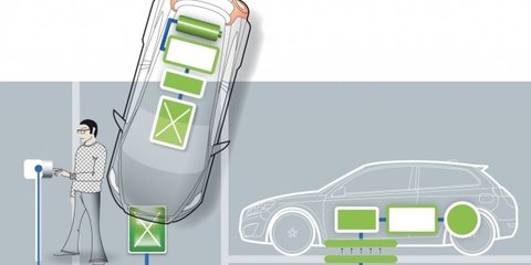 Volvo surges ahead with wireless charging - in your garage