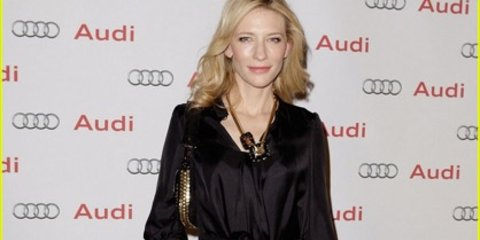 When Carbon Tax, Cate Blanchett and Audi collide