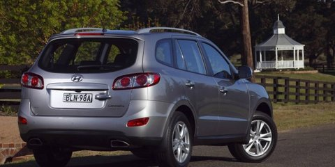 2011 Hyundai Santa Fe V6 petrol on sale in Australia