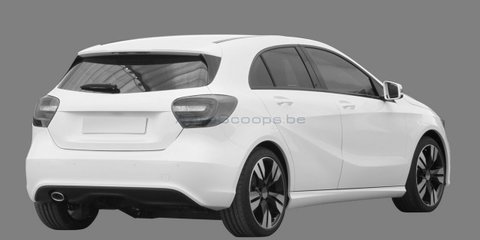 2012 Mercedes-Benz A-Class patent images leaked