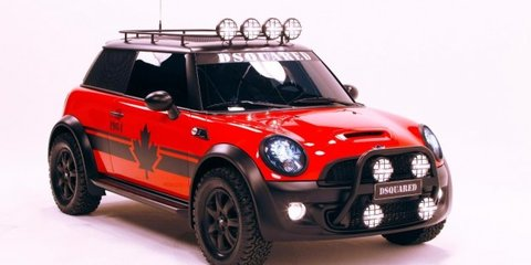 MINI Red Mudder by DSQUARED