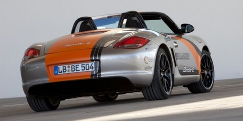 Porsche Boxster E prototype specifications
