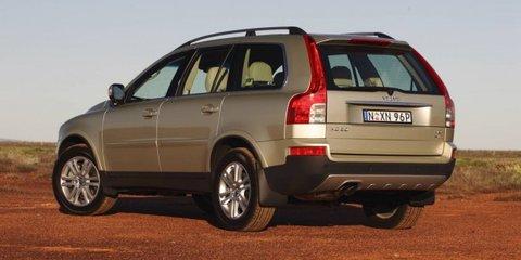 2010-2011 Volvo XC90 recalled in Australia