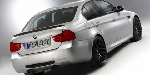 BMW M3 CRT sedan unveiled