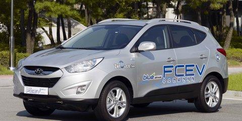 Hyundai ix35 FCEV Review (first drive)