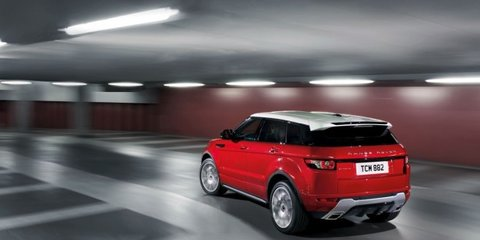 Range Rover Evoque pricing for Australia