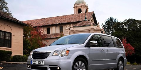 2011 Chrysler Grand Voyager updated for the UK