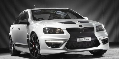 2011 HSV Clubsport R8, ClubSport R8 Tourer, Maloo R8 SV Black Edition at Australian International Motor Show 2011
