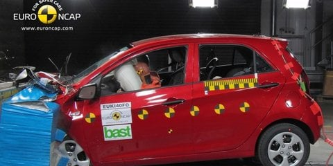 New Holden Barina (Chevrolet Aveo) among latest five-star Euro NCAP safety cars