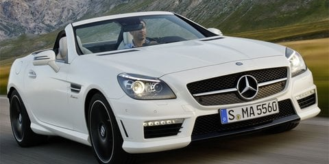 2012 Mercedes-Benz SLK55 AMG details and images released
