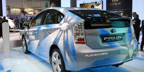 2012 Toyota Prius Plug-In Hybrid 2.2L/100km to debut at Frankfurt