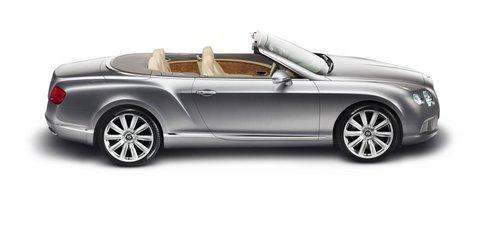 2012 Bentley Continental GTC coming to Frankfurt Motor Show