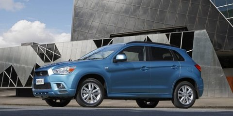 2012 Mitsubishi ASX update on sale in Australia