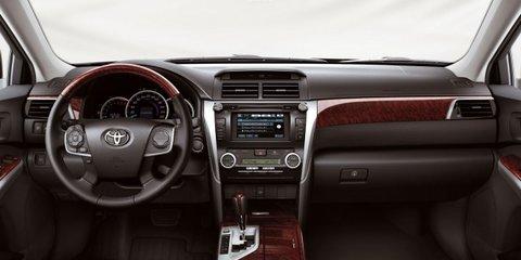 2012 Toyota Aurion revealed, on sale in Australia Q1