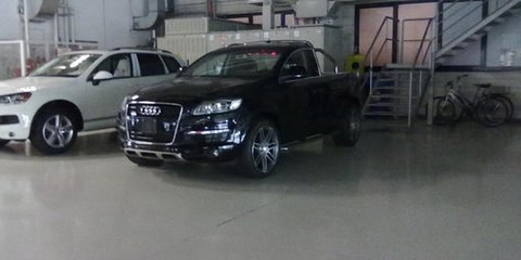 Audi Q7 Ute takes on BMW M3 Ute