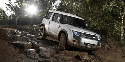 Land Rover DC100 Concept Defender SUV revealed