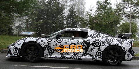 2012 Lotus Exige Spy Photos