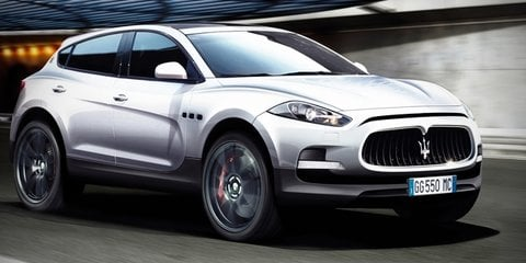 Maserati SUV to be built in Detroit